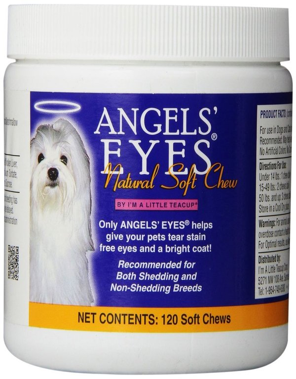 angel eyes dog side effects